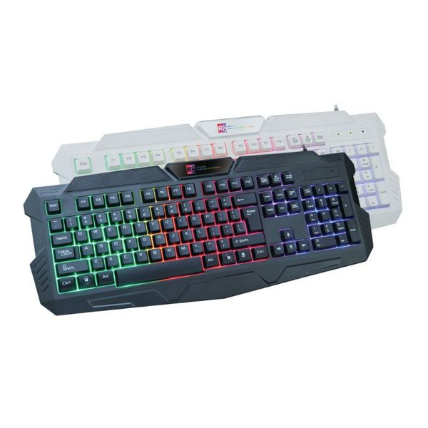 d6306be752a R8 1831 Gaming Keyboard – Black – Online Shop